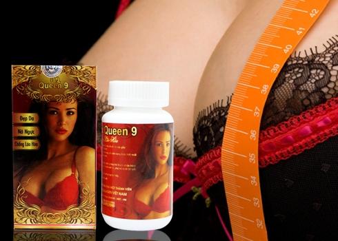 Thuốc nở ngực queen 9 nhật bản