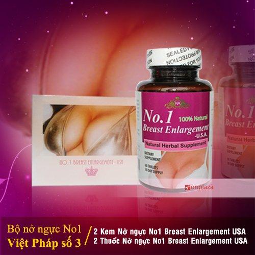 Bộ sản phẩm nở ngực no 1, no.1