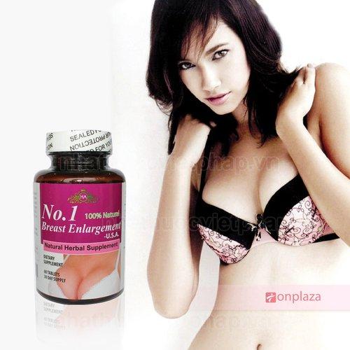 Địa chỉ bán Thuốc uống nở ngực No.1 Breast USA tại Hà nội