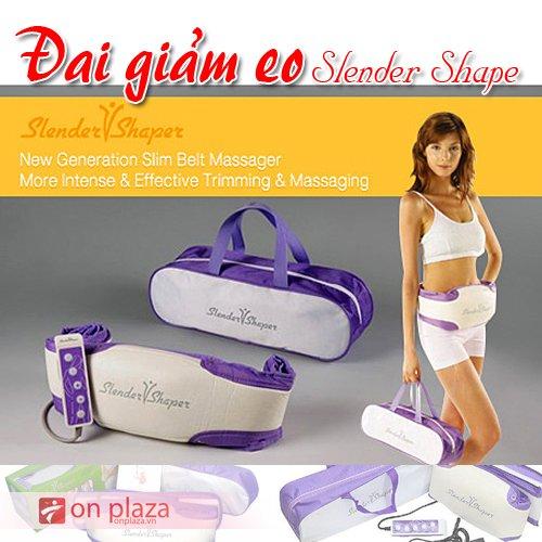 đai giảm eo, đai massage giảm béo