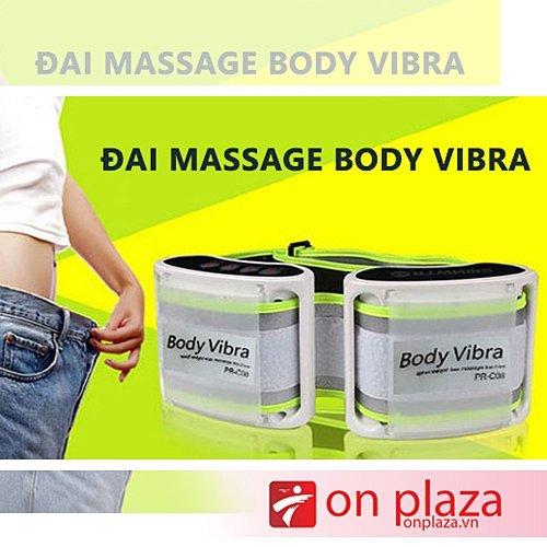 đai giảm eo, đai massage body vibra