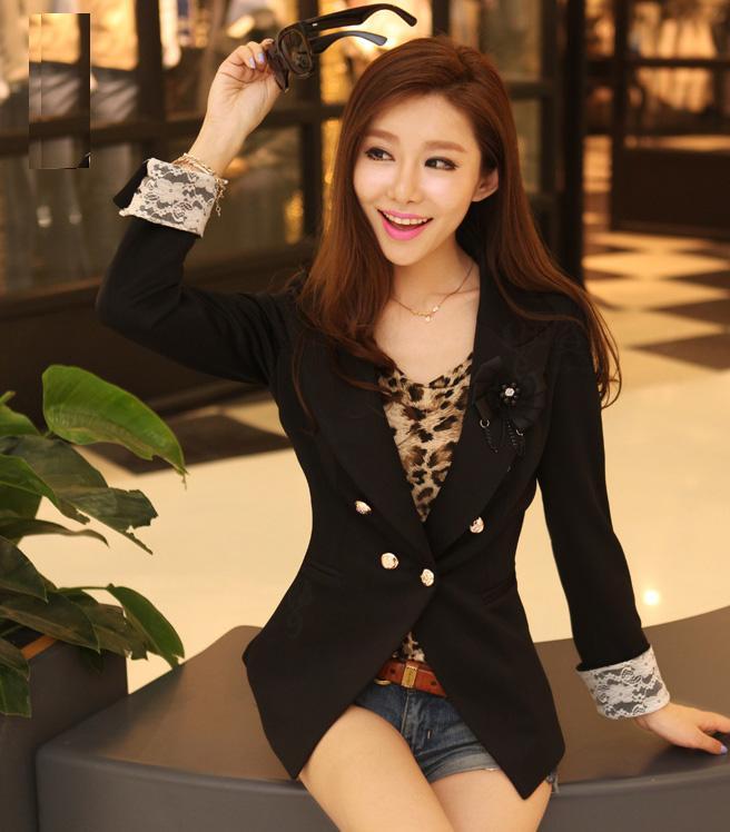Áo vest nữ đen đẹp 2015