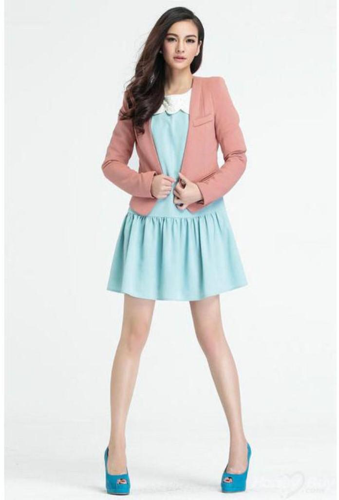 Cách phối màu áo vest đẹp