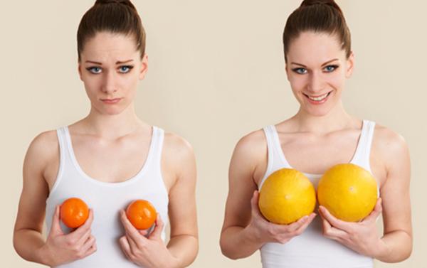 Chế độ ăn uống lành mạnh giúp nở ngực hiệu quả