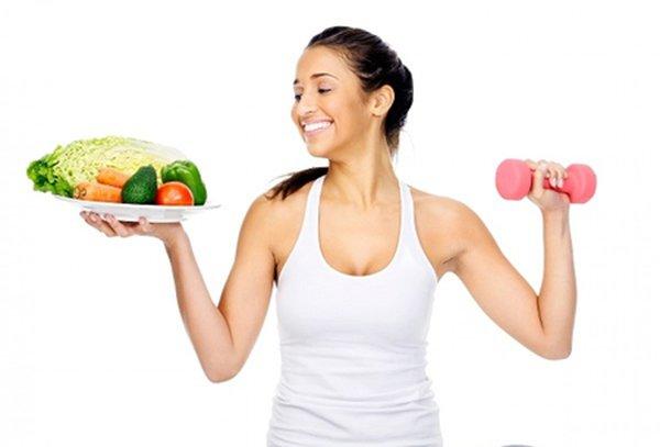 Một chế độ dinh dưỡng và thể thao phù hợp giúp phụ nữ cải thiện vòng 1