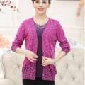 Các mẫu áo khoác len nữ trung niên đẹp tại Hà Nội