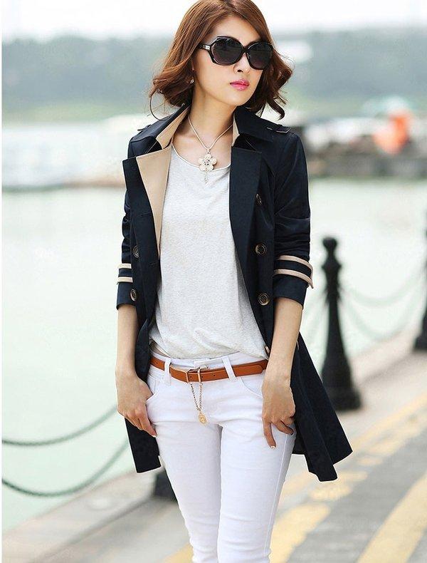 Thời trang áo khoác nữ