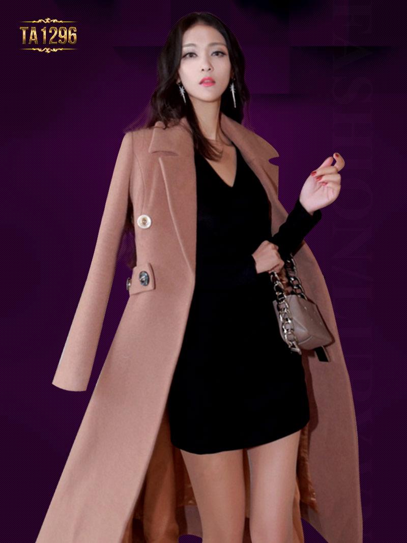 Áo khoác dạ big size xu hướng mới cho phái đẹp