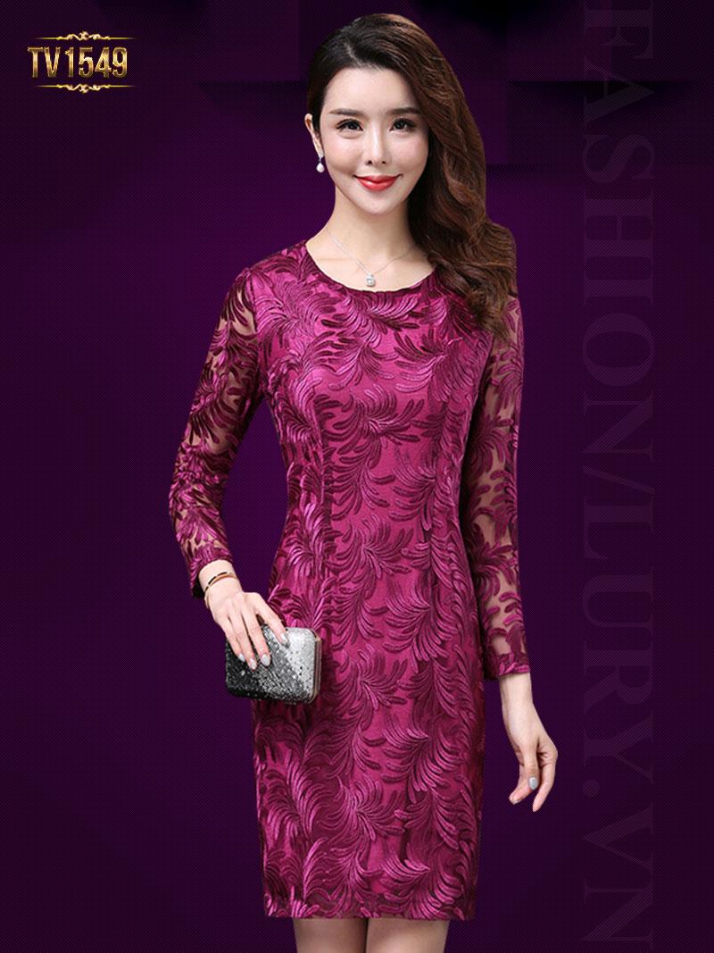 BST các mẫu váy trung niên cao cấp đẹp nhất